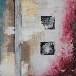 Six Squares Triptych Painting 1