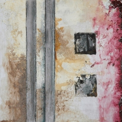 Six Squares Triptych Painting 2