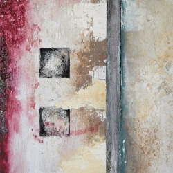 Six Squares Triptych Painting 3