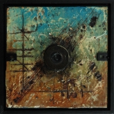 Painting No. 2 from the series: Small Encaustic Assemblages