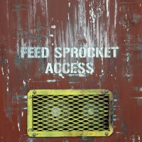 Markings: Feed Sprocket Access