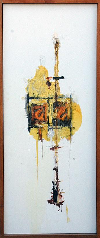 Domenick Naccarato | Mixed media painting on canvas | 1998
