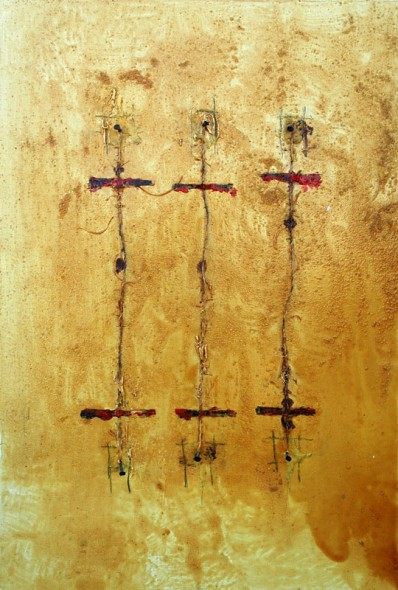 Domenick Naccarato | mixed media on canvas | 1999