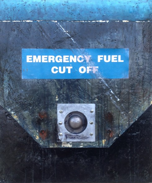 Emergency Fuel Cutoff painting by Dom Naccarato