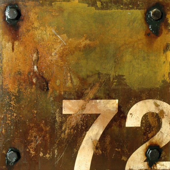 Markings: Seventy Two - mixed media and assemblage art by Domenick Naccarato