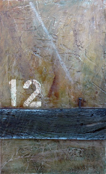 Wall Segments No. 15 - Abstract art by Domenick Naccarato