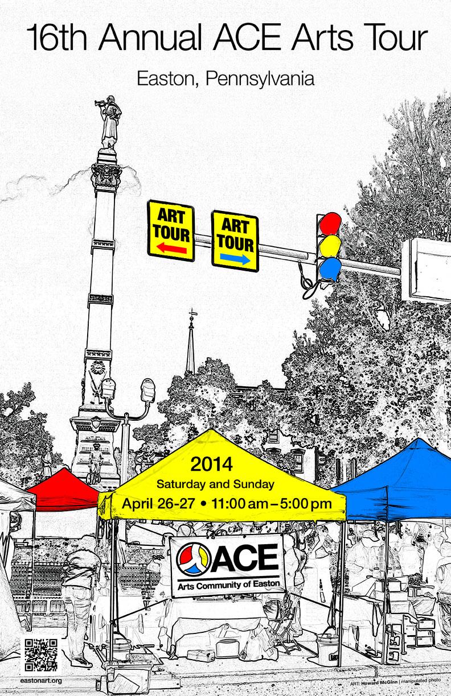 ACE Art Tour poster