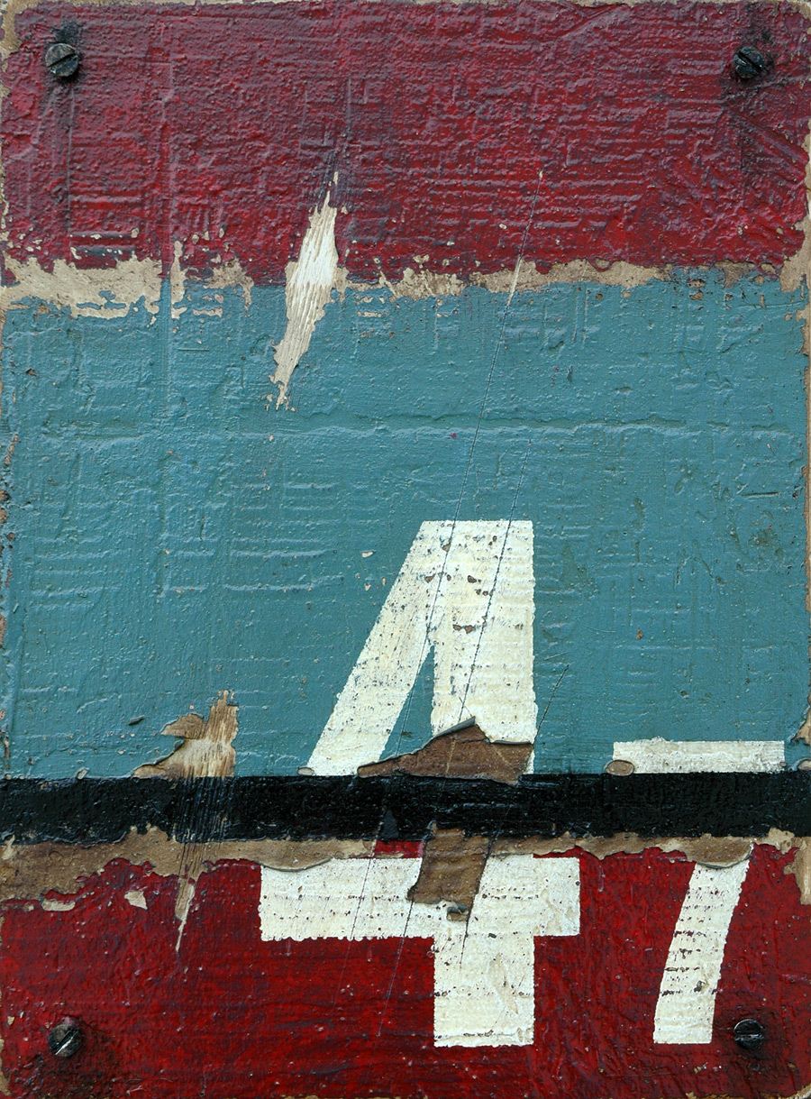 Markings: 47 - Abstract Industrial Art by Domenick Naccarato