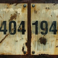 Markings: 24041945 - Abstract Industrial Art by Domenick Naccarato