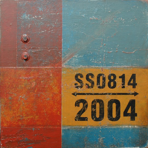 Markings: SS08142004 - Abstract Typographical Art by Domenick Naccarato