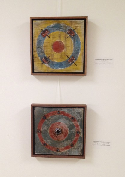 Concentric circles - abstract contemporary art by Domenick Naccarato