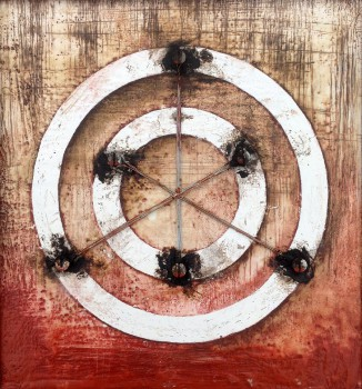 Abstract & Assemblage Encaustic Art by Domenick Naccarato