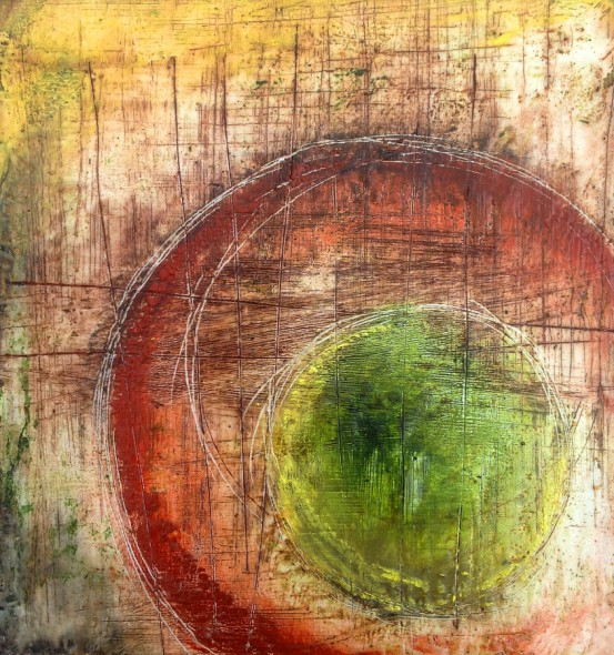 Contemporary Encaustic Art by Dom Naccarato