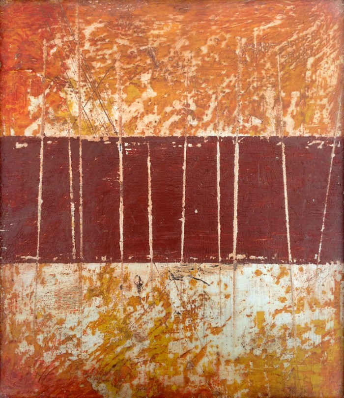 Abstract Encaustic Art by Domenick Naccarato