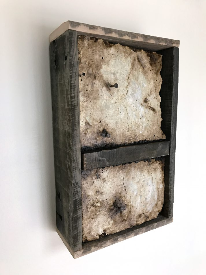"'Concrete Remnants, No.3' | apx. 13.5"" x 8.25"" x 3.25"" 
